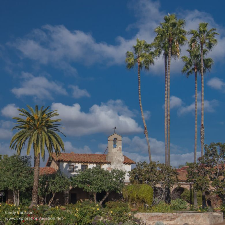 Mission San Juan Capistrano California - www.ExplorationVacation.net