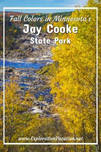 Jay Cooke state park - www.ExplorationVacation.net