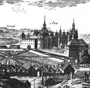 From Erik Dahlberg's Svecia Antiqua et Hodierna [public domain] via Wikimedia Commons