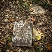 Thomson Pioneer Cemetery at Minnesota's Jay Cooke State Park