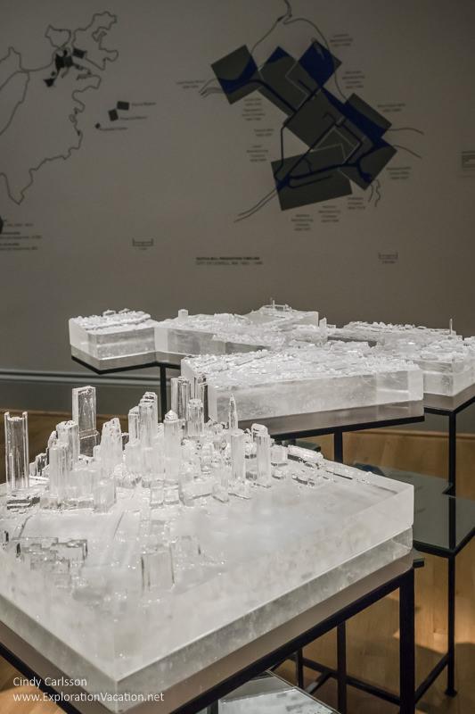 "Land use art by Norwood Viviano ""Mining Industry"" Renwick Gallery Washington DC - www.ExplorationVacation.net"