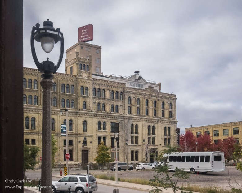 Milwaukee's historic Pabst Brewery - www.explorationvacation.net
