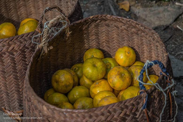 Northern Vietnam road trip oranges - ExplorationVacation