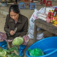 market in northern Vietnam - Exploration Vacation