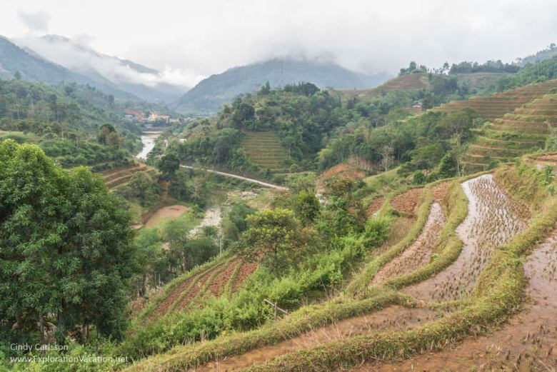 Terraces Northern Vietnam road trip - ExplorationVacation