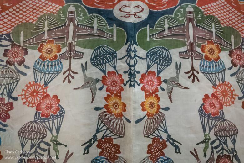 Bingata from Okinawa Textile Museum Washington DC - Exploration Vacation