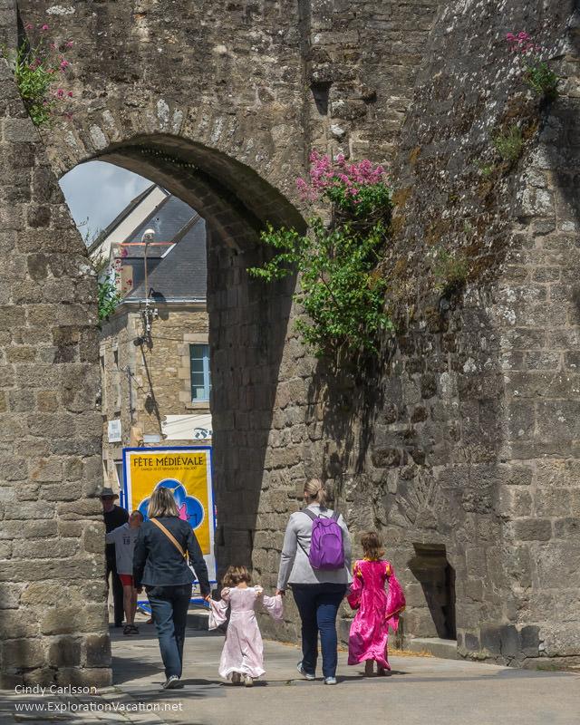 Guerande France Medieval Festival - www.ExplorationVacation.net