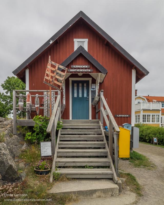 post office Landsort Öja Island Sweden - www.ExplorationVacation.net