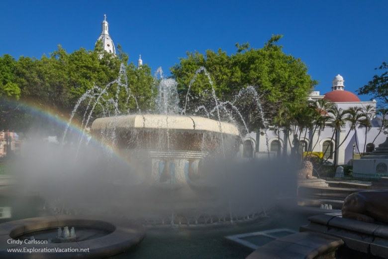Fountains in Ponce, Puerto Rico - www.ExplorationVacation.net