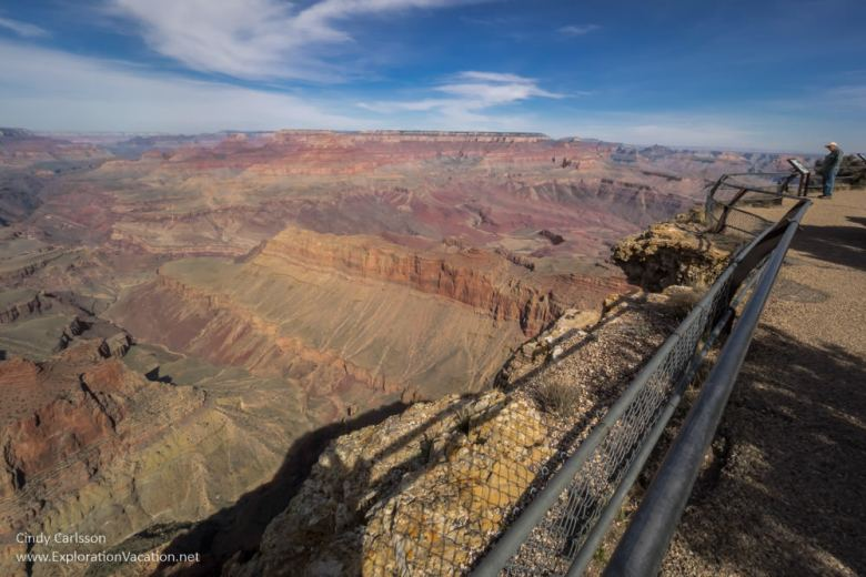 Scenic views from the Grand Canyon's south rim - Lipan Point - www.ExplorationVacation.net