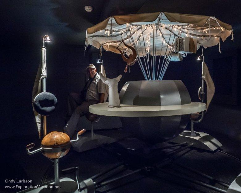 carousel Erik Satie Museum Honfleur France