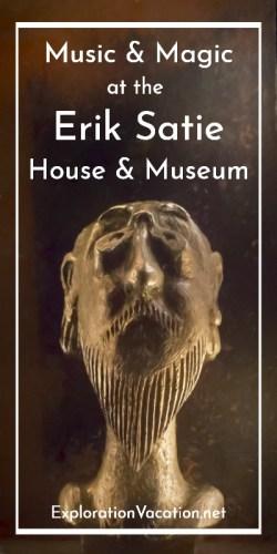 Erik Satie Houe and Museum Honfleur
