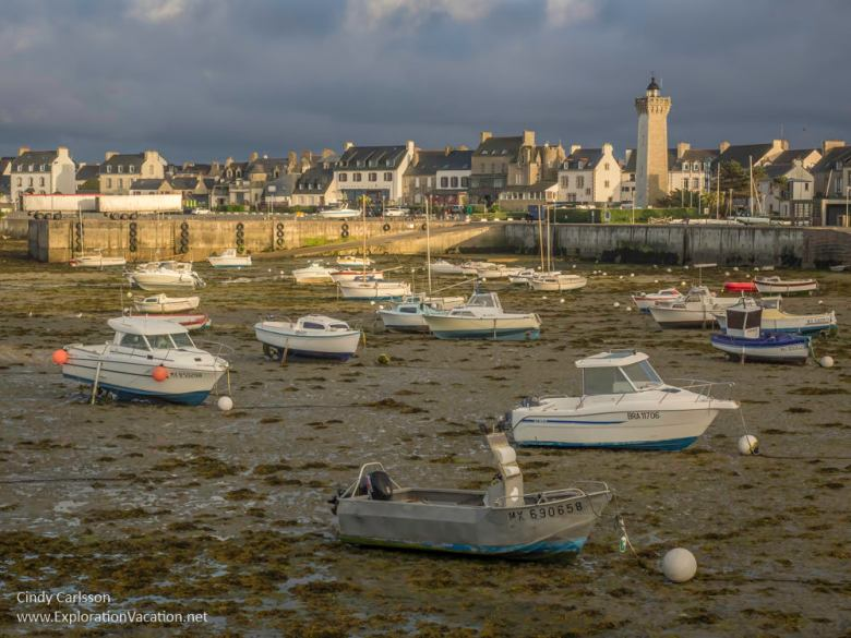 Low tide in Brittany France - www.explorationvacation.net