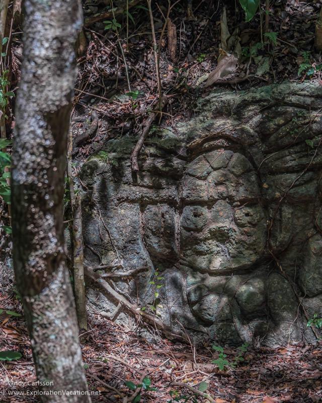 Mayan ruins Sian Ka'an Biosphere Reserve Tulum Mexico @ www.ExplorationVacation.net