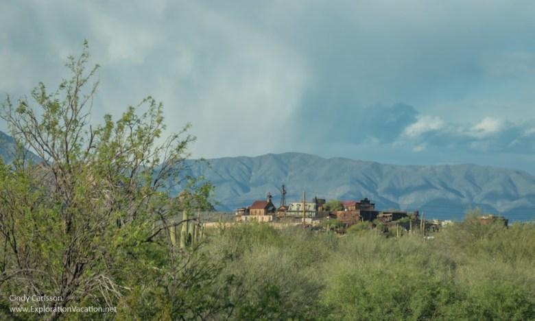 Goldfield Ghost Town Arizona Apache Trail Historic Highway road trip - www.explorationvacation.net