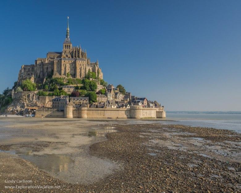 Mont Saint-Michel - Beyond Normandy's Beaches - ExplorationVacation.net