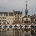 Honfleur, France - beyond the beach in Normandy - ExplorationVacation.net
