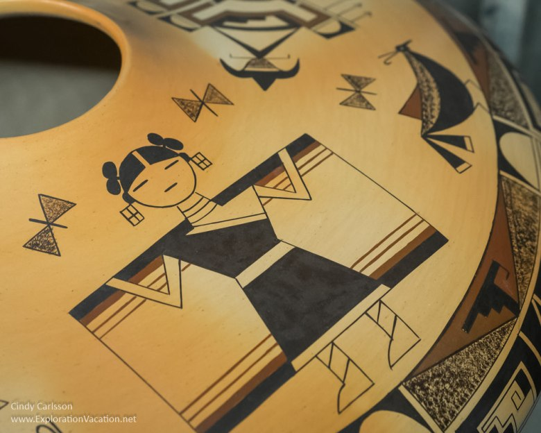 Hopi pottery by Garrett Maho Western Spirit Scottsdale Arizona - www.ExplorationVacation.net