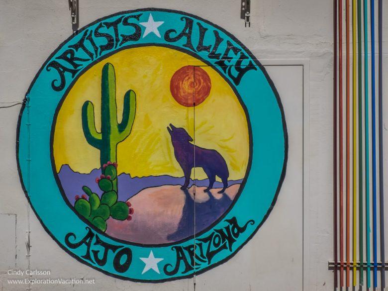 Artist Alley Ajo Arizona - ExplorationVacation.net