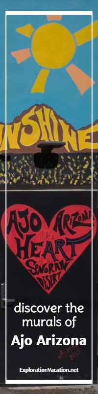Discover street art in Ajo Arizona - ExplorationVacation.net
