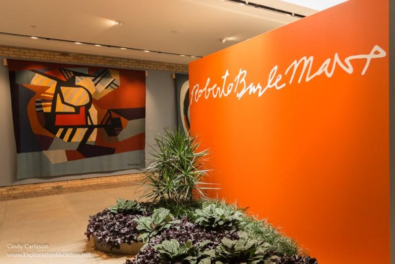 Exhibit on Brazilian designer Roberto Burle Marx at the Chicago Botanic Garden - ExplorationVaction.net