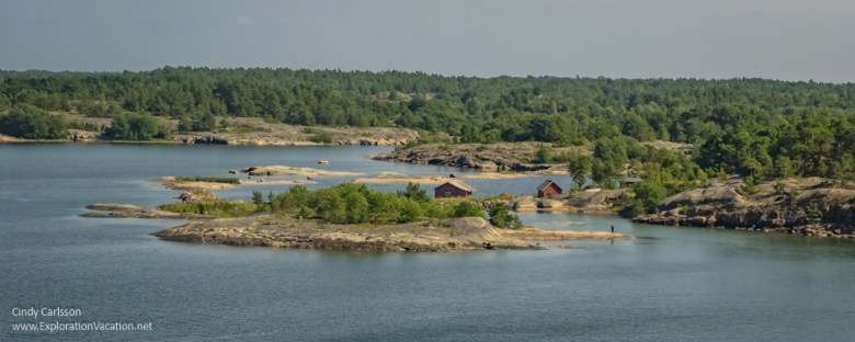 View on arrival in the #Åland Islands - ExplorationVacation #Finland #visitåland #discoverfinland #summervacation