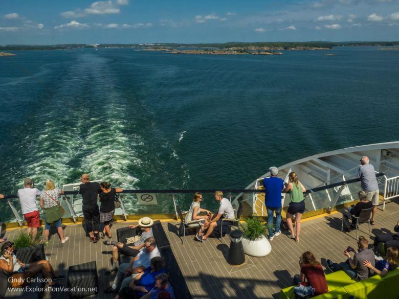 Cruising to Åland - ExplorationVacation #Finland #visitåland #discoverfinland #summervacation #alandislands #onthewater