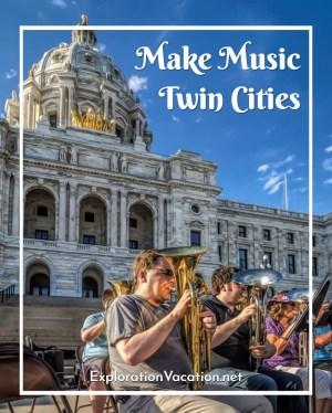 Make Music Twin Cities - ExplorationVacation.net