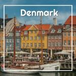 Small ships crowd Copenhagen's colorful Nyhavn harbor