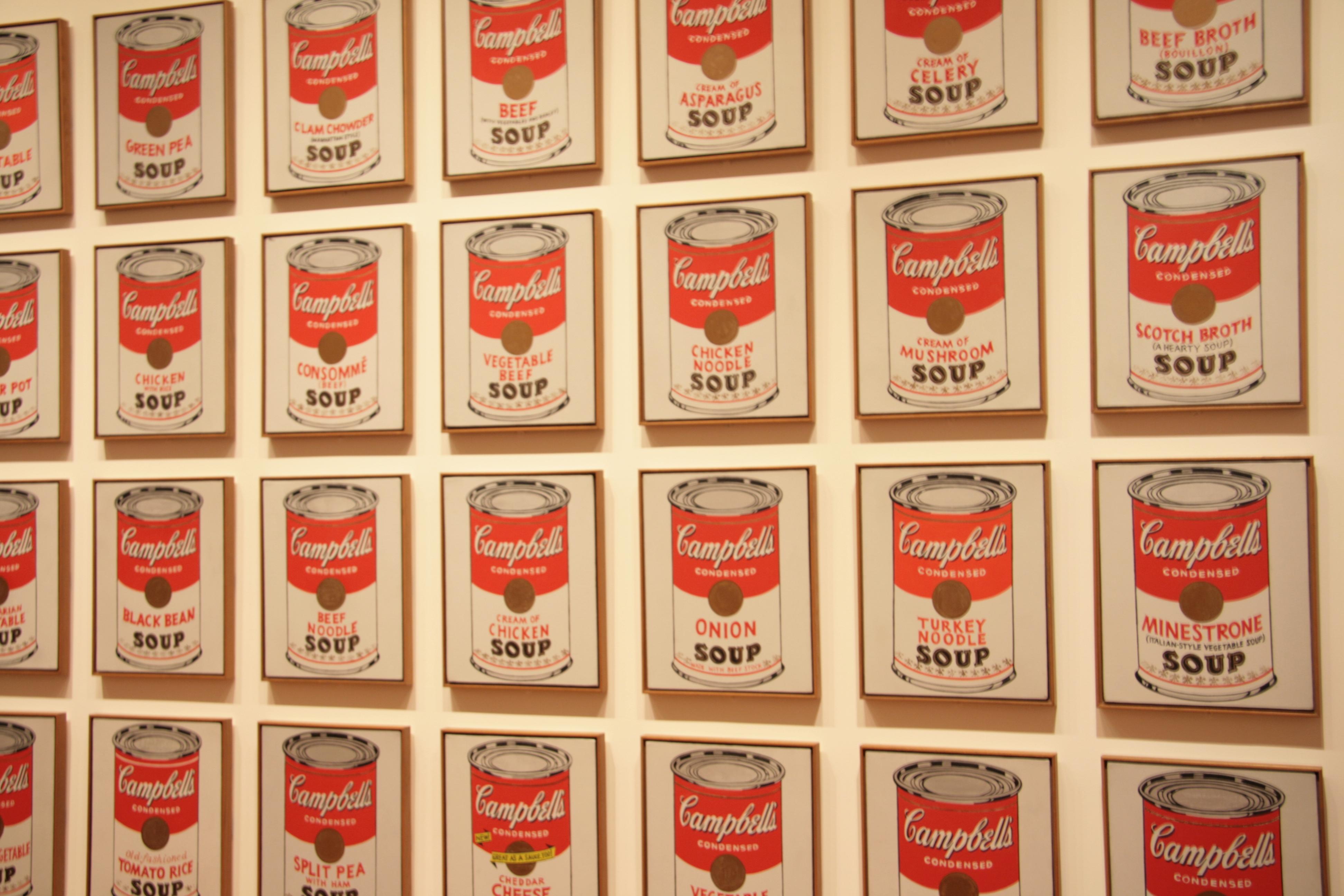 Warhol par CC au MOMA