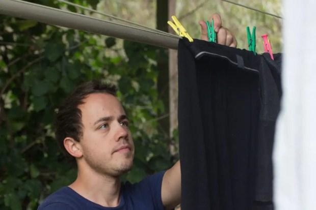 Wäsche aufhängen Neuseeland