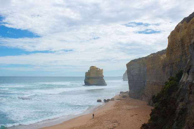 Gibson Steps Route Victoria Australien