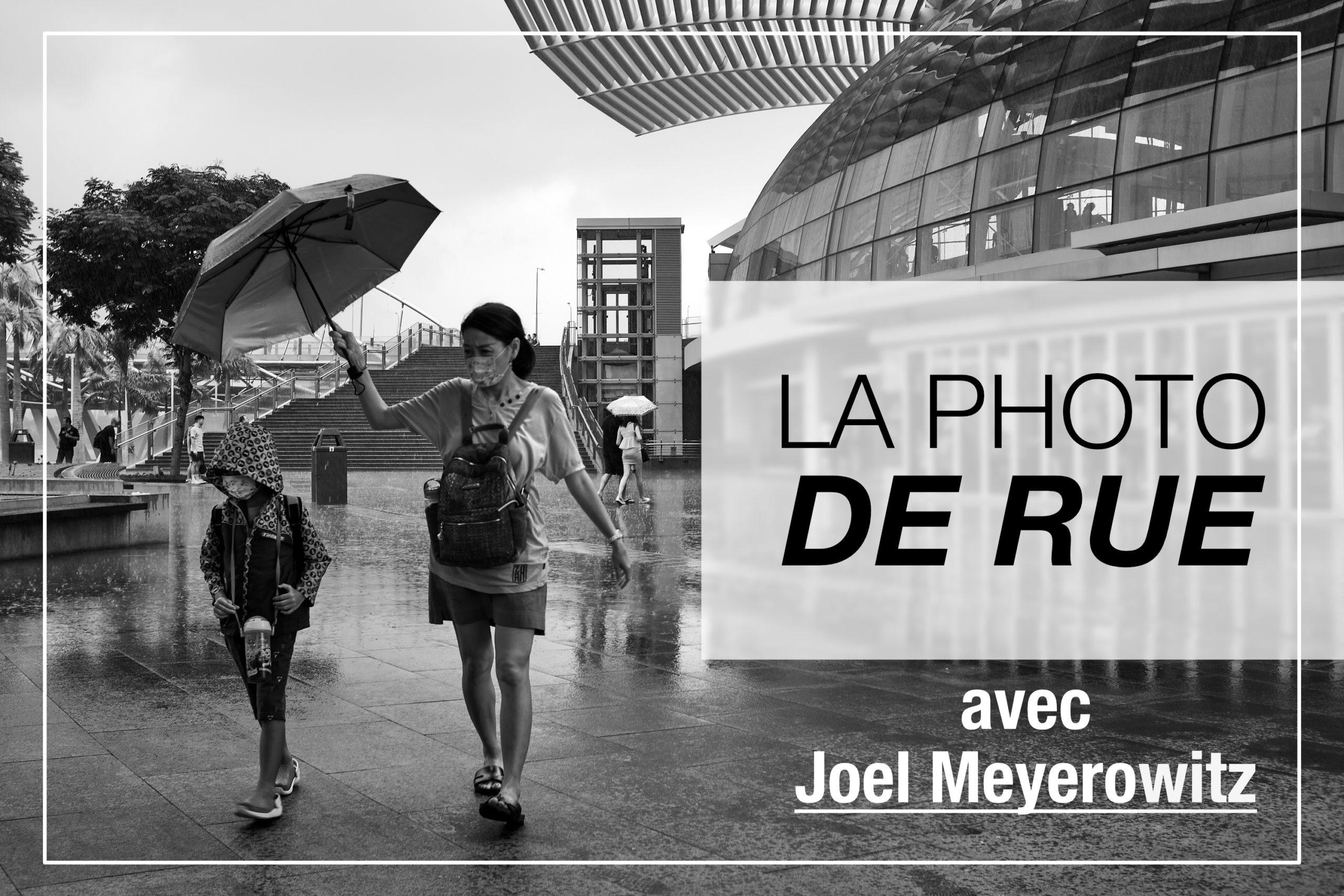 Cover Article - Photo de rue avec Joel Meyerowitz
