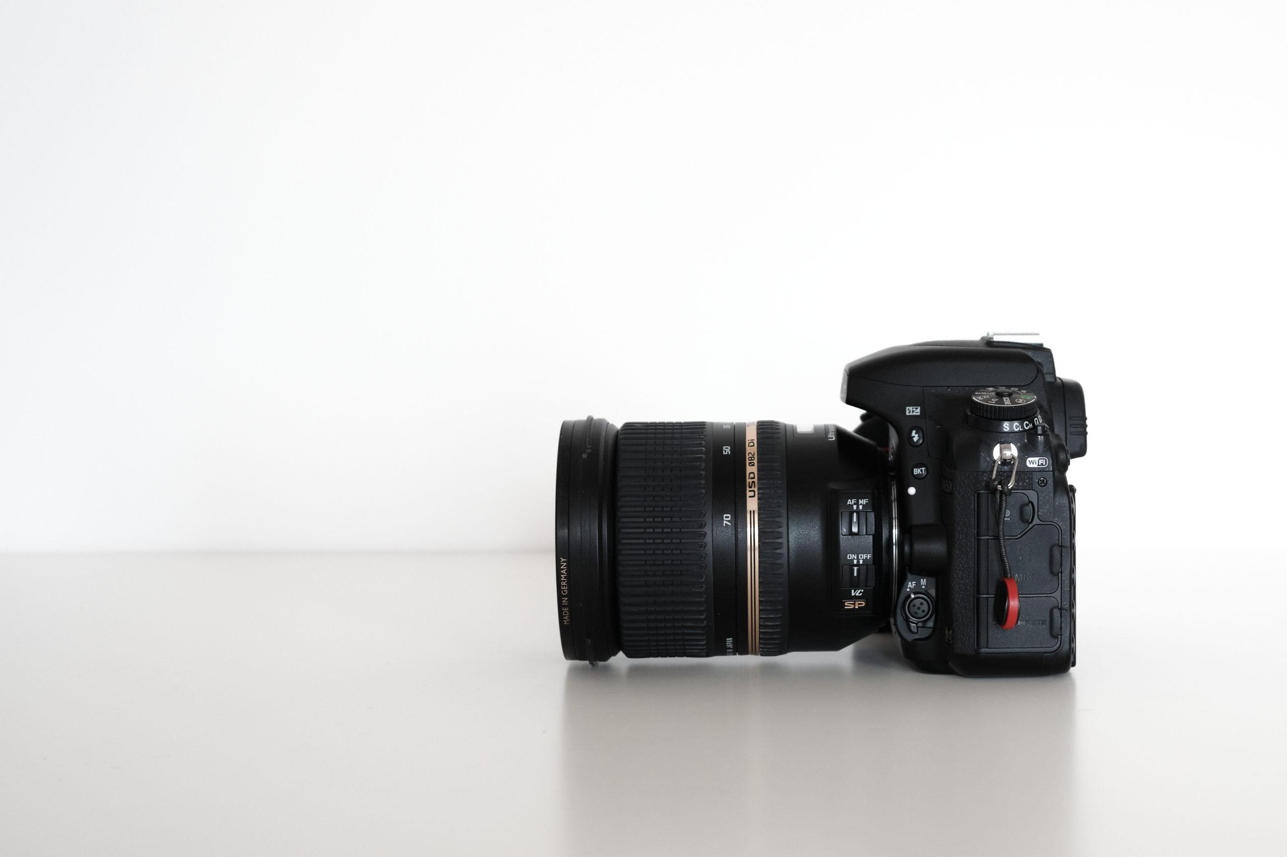 Boitier Nikon D750 - vue de côté