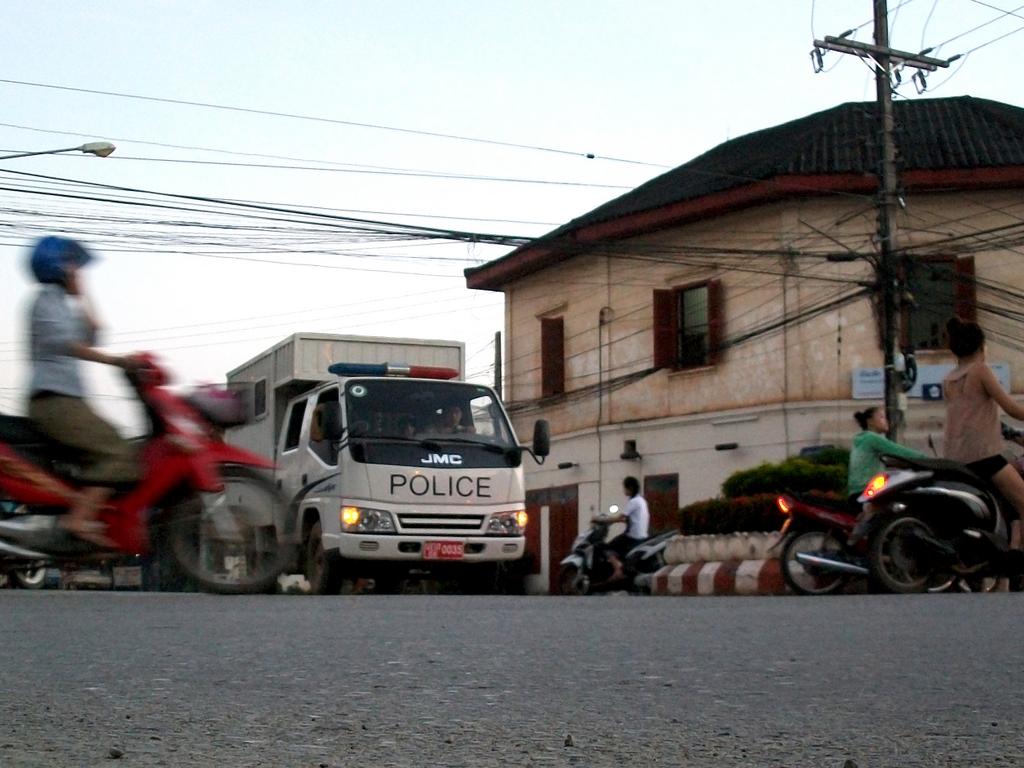 Lao traffic, expat life