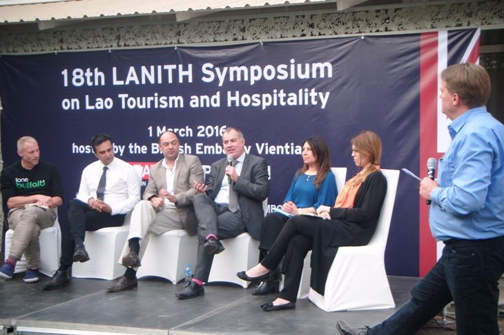 LANITH Vientiane Symposium on Tourism Lord Puttnam
