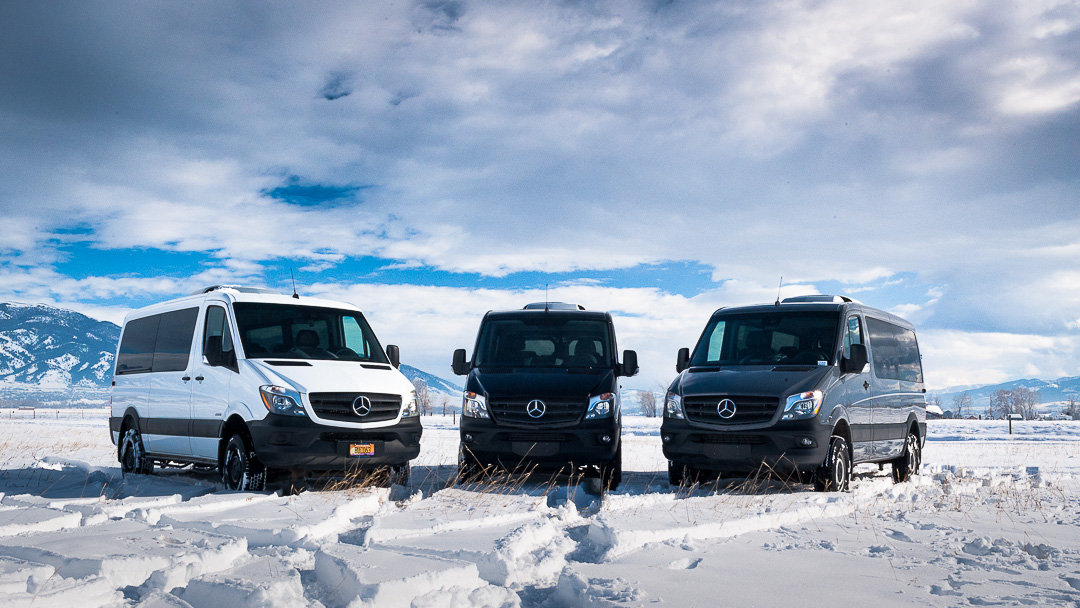 4x4 Sprinter Van Rentals in Bozeman - Explore Rentals