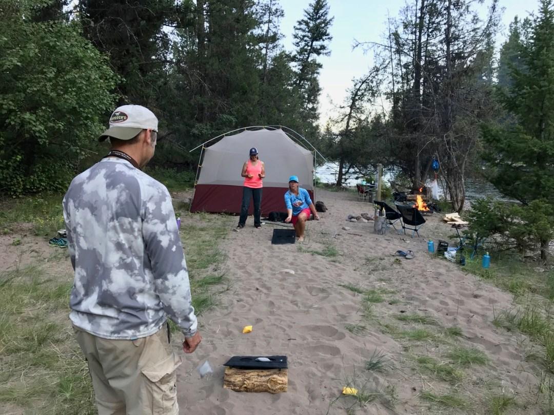 river camping rentals in bozeman, MT