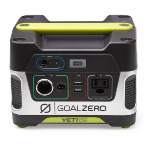 GOAL ZERO YET 150 PORTABLE POWER STAION RENTAL BOZEMAN