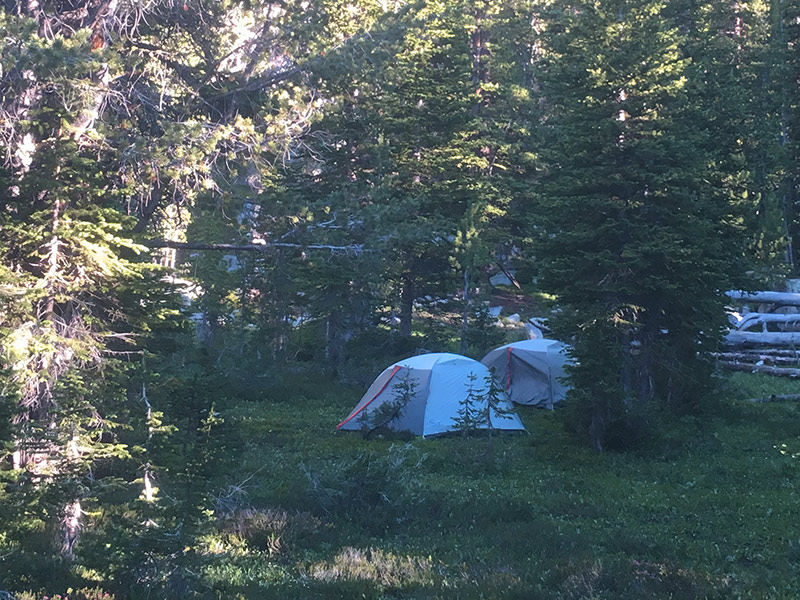 Backpacking-tent-rental