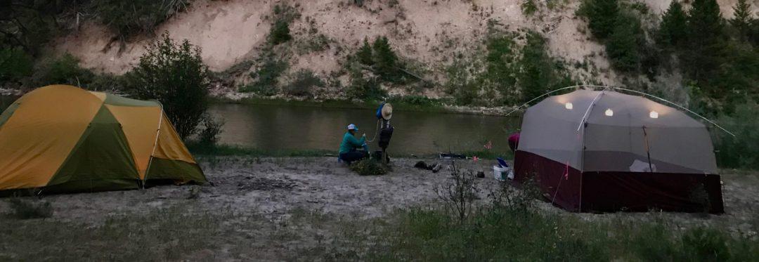 River shelter rental