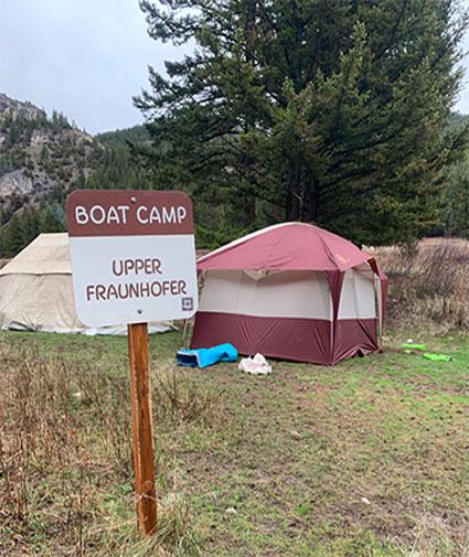 river camping rentals