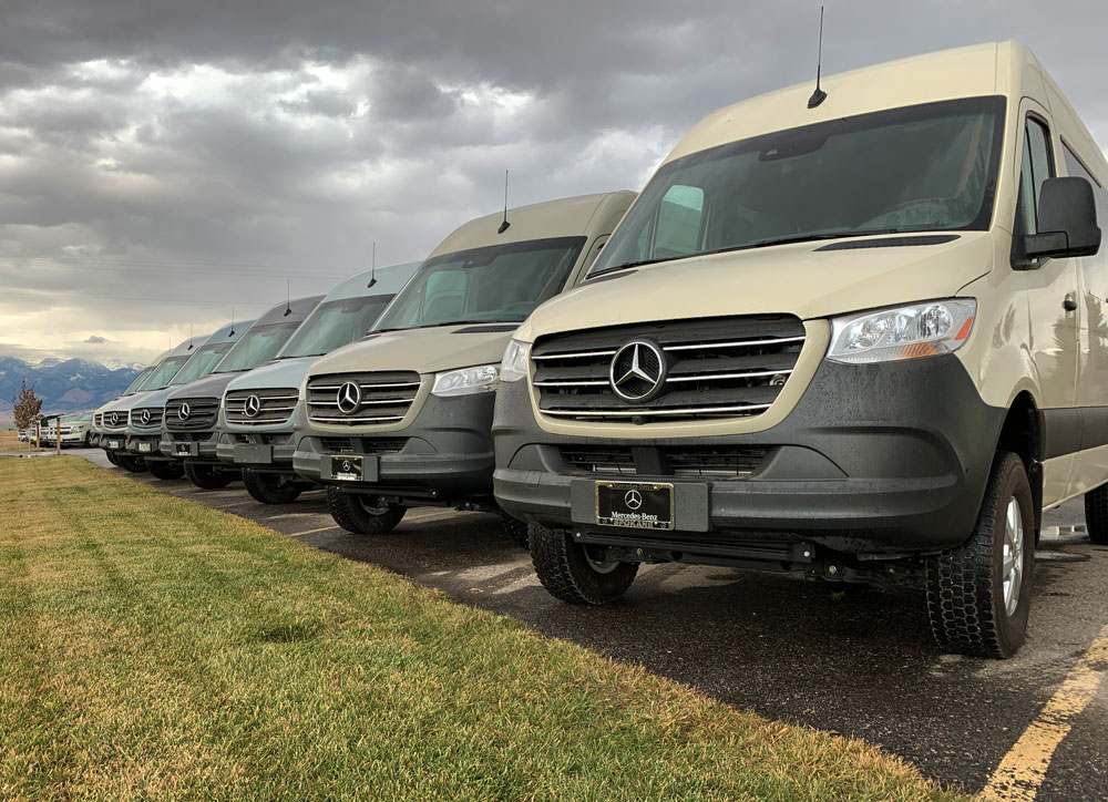 Sprinter Van Rentals in Bozeman, MT