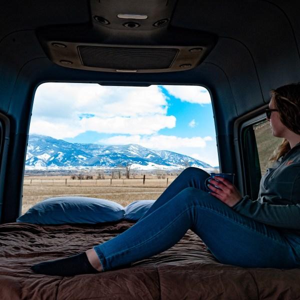 Bed in a Van
