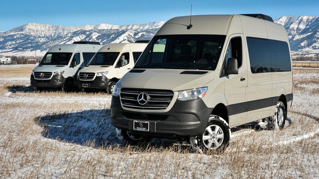 Rental 4x4 Sprinter Vans