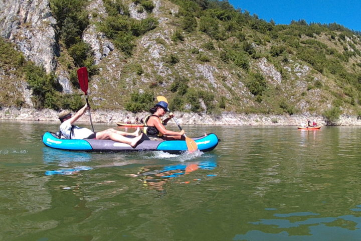 kayak tour on Uvac