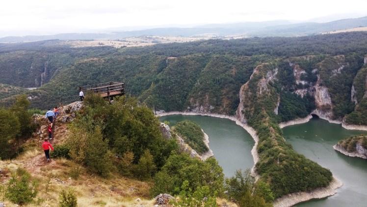 vidikovac Molitva, kanjon Uvca