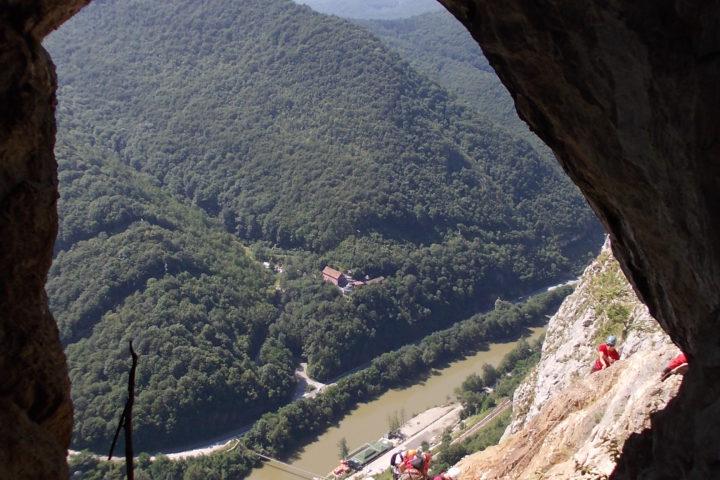 via ferrata Kablar, cave Turčinovac
