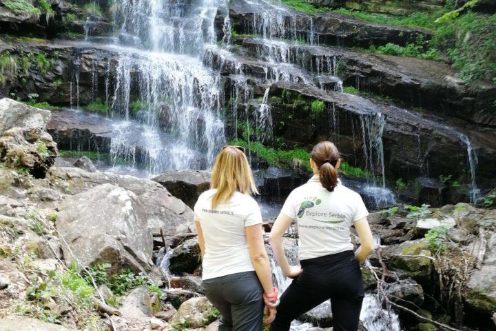 waterfall Tupavica, Explore Serbia