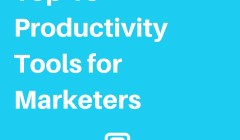 the best productivity tools for marketers